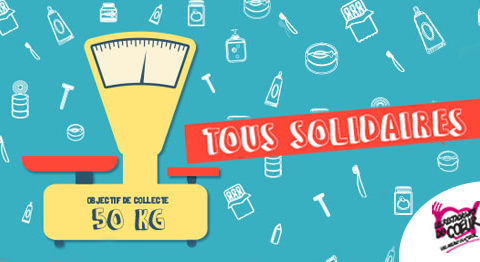 Le Campus Montsouris fait sa collecte en partenariat avec Les Restos du Coeur